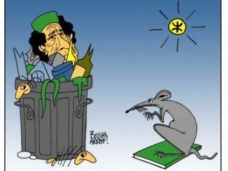 القذافي جلطة