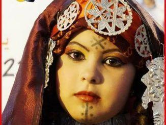 فتاة ورفلية بالزي التقليدي